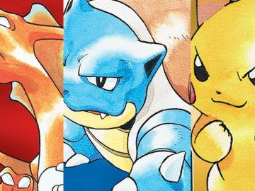 Pokémon Rojo, Azul y Amarillo