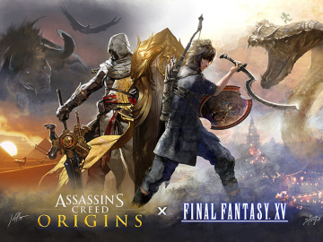 Colaboración entre Assassin's Creed y Final Fantasy XV
