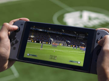 FIFA 18 en Nintendo Switch