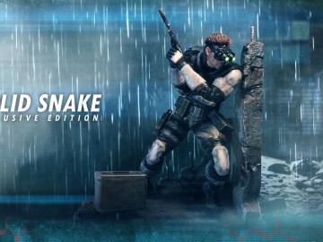 Figura Metal Gear Solid
