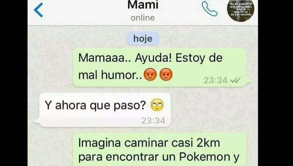 Whatsapp Pokémon GO