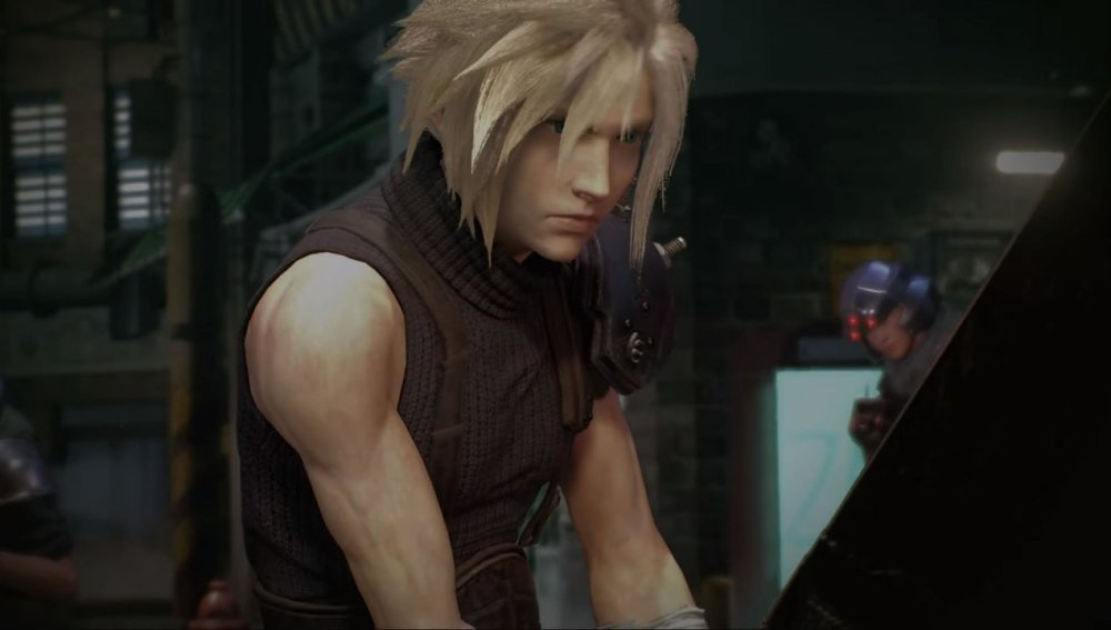 Cloud, en Final Fantasy VII Remake