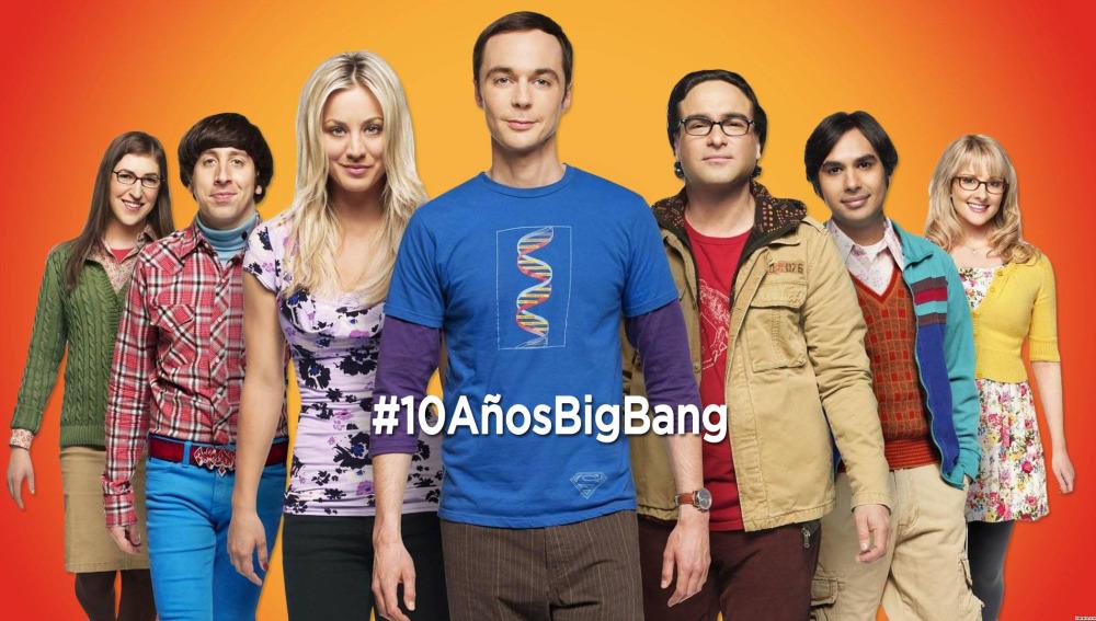 10 Años de 'The Big Bang Theory' contado en menos de 2 minutos