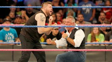 Kevin Owens ataca a Shane McMahon antes de Hell in a Cell en 'SmackDown'