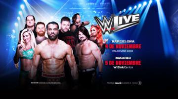 Nueva cartelera actualizada para los shows en España del 4 y 5 de noviembre
