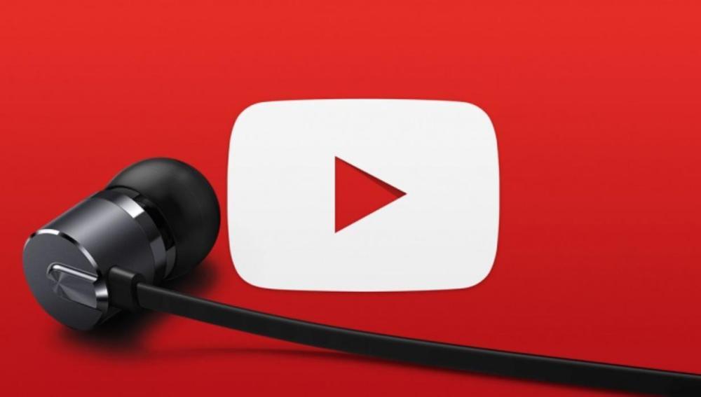 Youtube y auriculares