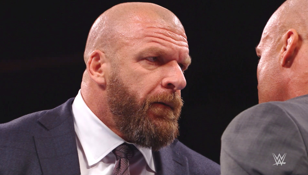 Triple H regresó en RAW y se apuntó a las Survivor Series