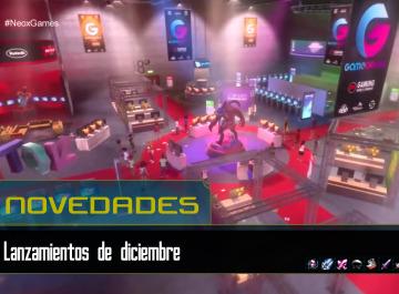 Los videojuegos lanzados en diciembre 2017