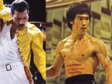 Freddie Mercury y Bruce Lee