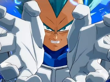 Vegeta SSGSS en Dragon Ball FighterZ