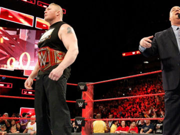 Brock Lesnar subirá al ring para un Champion vs. Champion en Marzo contra The Miz