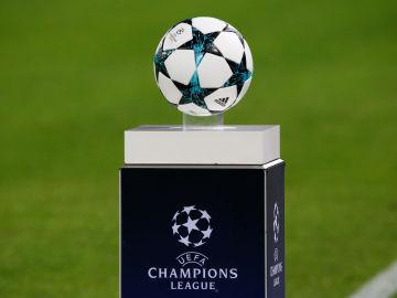 El balón de la Champions League