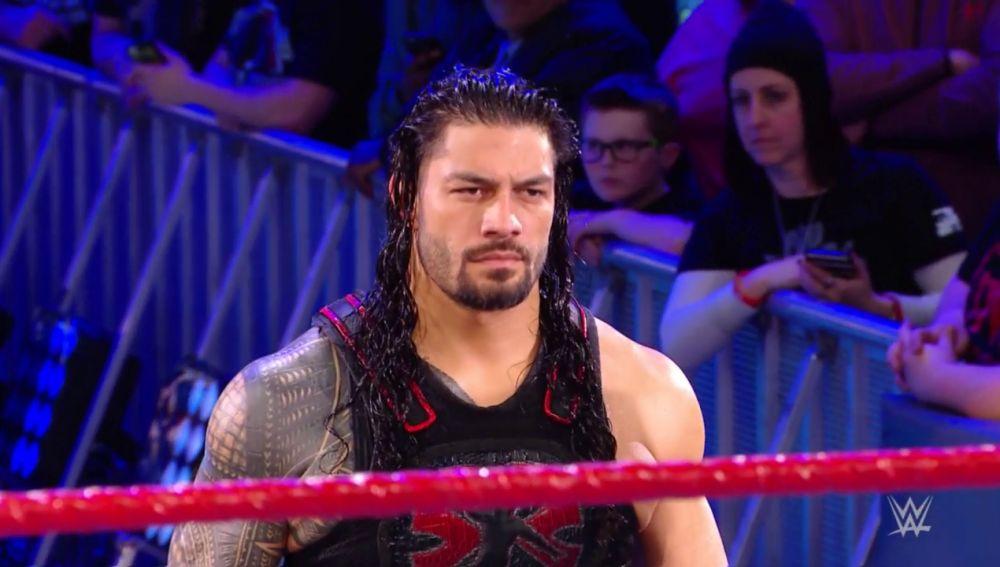 Roman Reigns sigue esperando a Brock Lesnar