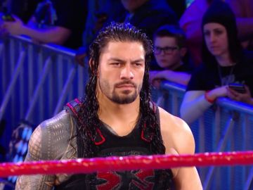 Roman Reigns sigue esperando a Brock Lesnar