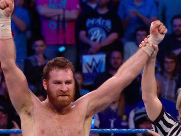 Sami Zayn se impone en el Fatal 4 Way de la marca azul