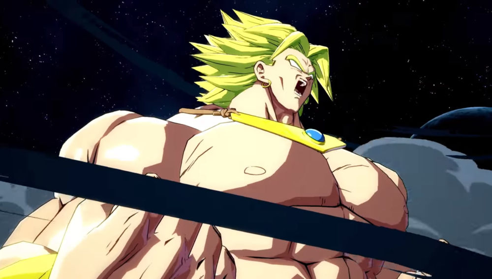 Broly en Dragon Ball FighterZ