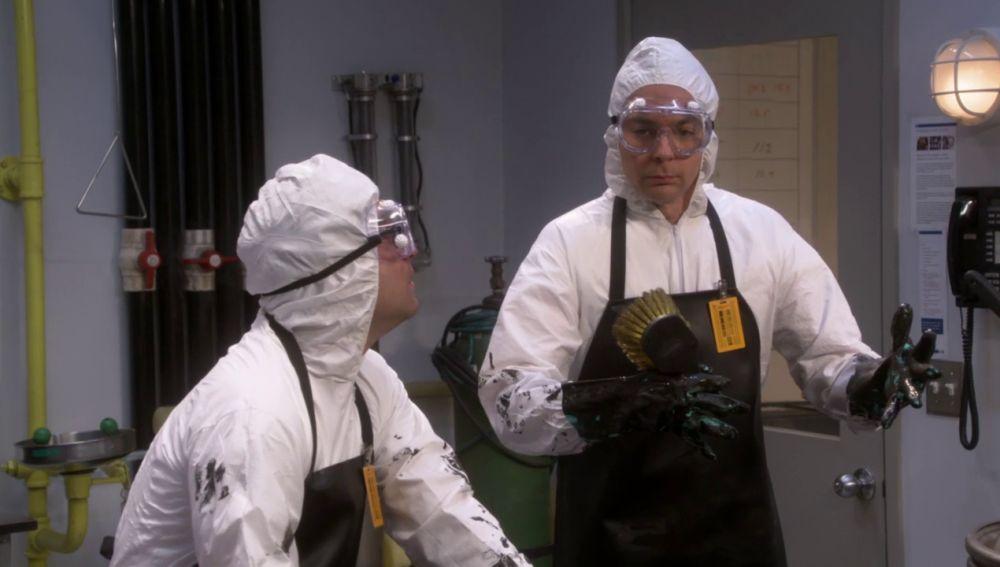 Las duras tareas de Sheldon y Leonard por conseguir el Ateneo para la boda