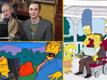 Revivimos el paso de Stephen Hawking por 'Big Bang' y 'Los Simpson' con una programación especial