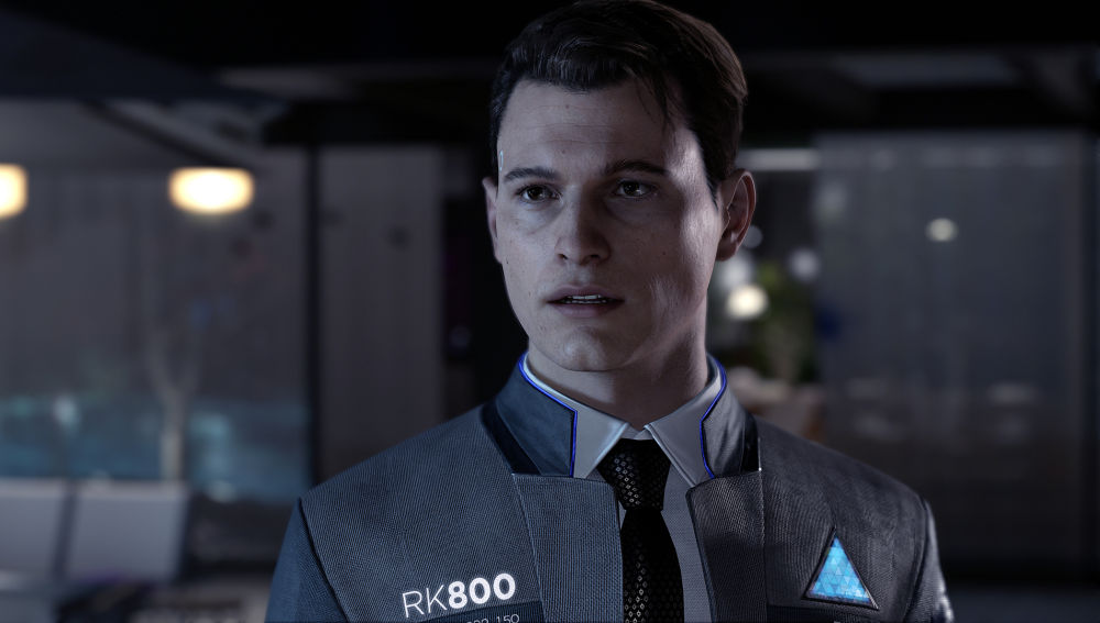 Connor, el androide que manejaremos en esta demo