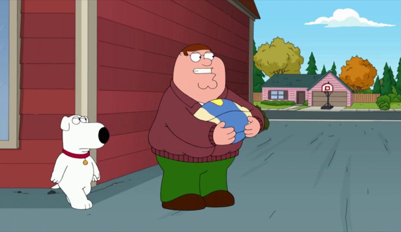 """""""Pero Peter, ¿qué haces? ¿Salvas al pavo en vez de a mí?"""""""