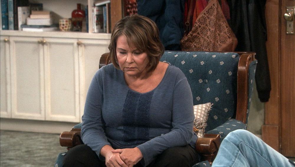 Roseanne dando ánimos
