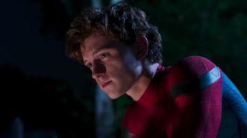Tom Holland en 'Spiderman: Homecoming'