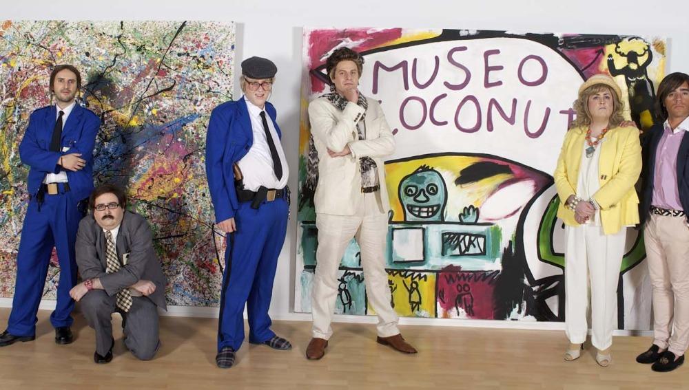 Los protagonistas de Museo Coconut