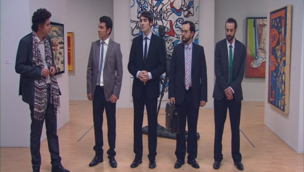 Los candidatos a guía del museo