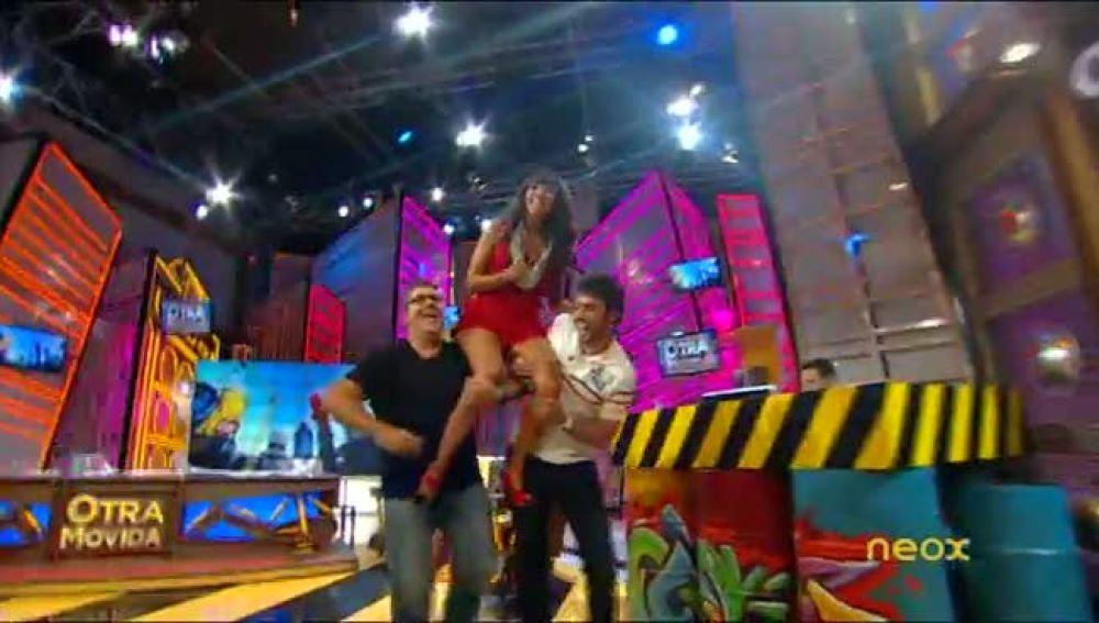 Cristina Pedroche sale a hombros