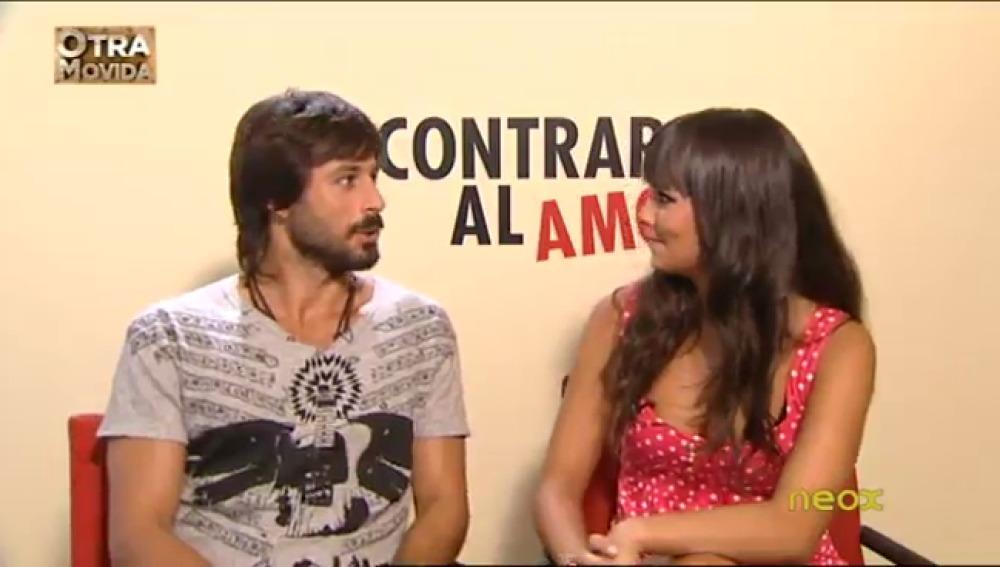 Pedroche con Hugo Silva