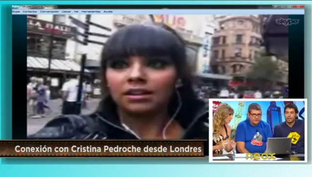 Conexión con Cristina pedroche
