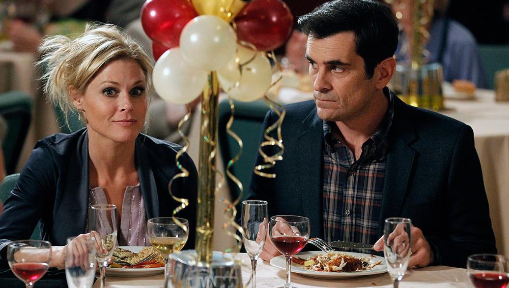 Phil y Claire en Nochevieja