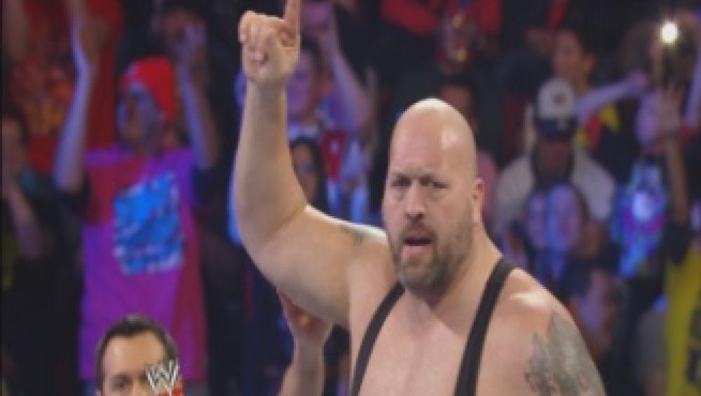 Demostración de fuerza de Big Show frente a Ryback