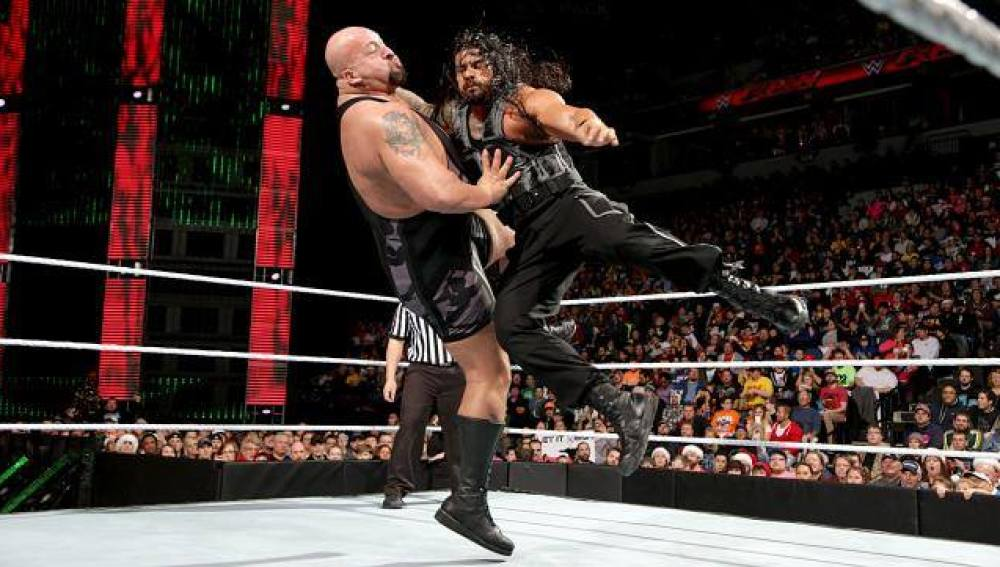 Big Show y Roman Reings