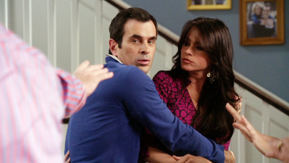 Gloria y la ex de Jay se enfrentan