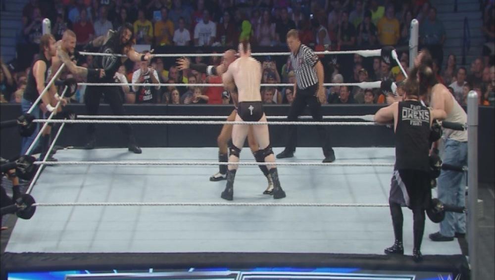 Orton, Ambrose, Reigns & Cesaro ganaron