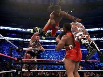 Combate de seis  luchadores por equipos