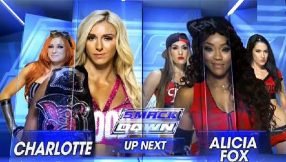 Duelo de Divas entre Charlotte y Alicia Fox, en SmackDown