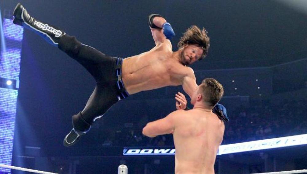 AJ Styles gana a The Miz con el CalfKiller en 'SmackDown'
