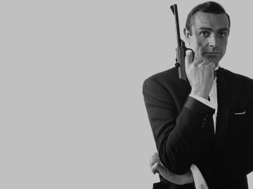 Sean Connery como 'James Bond'