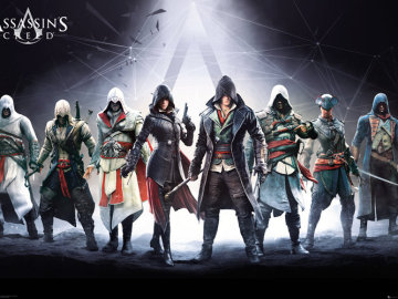 Protagonistas Assassin's Creed