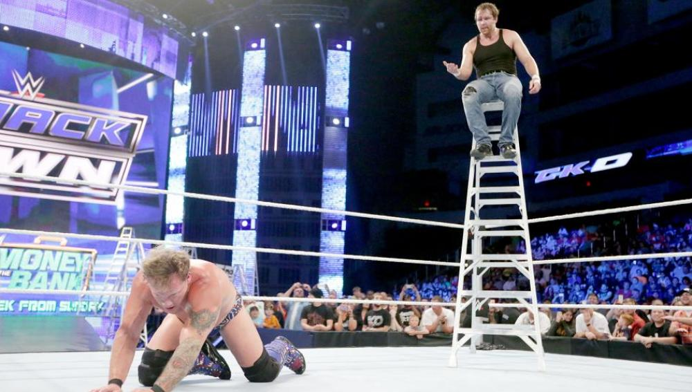 Jericho se impone a Ambrose mirando a Money in the Bank en 'SmackDown'