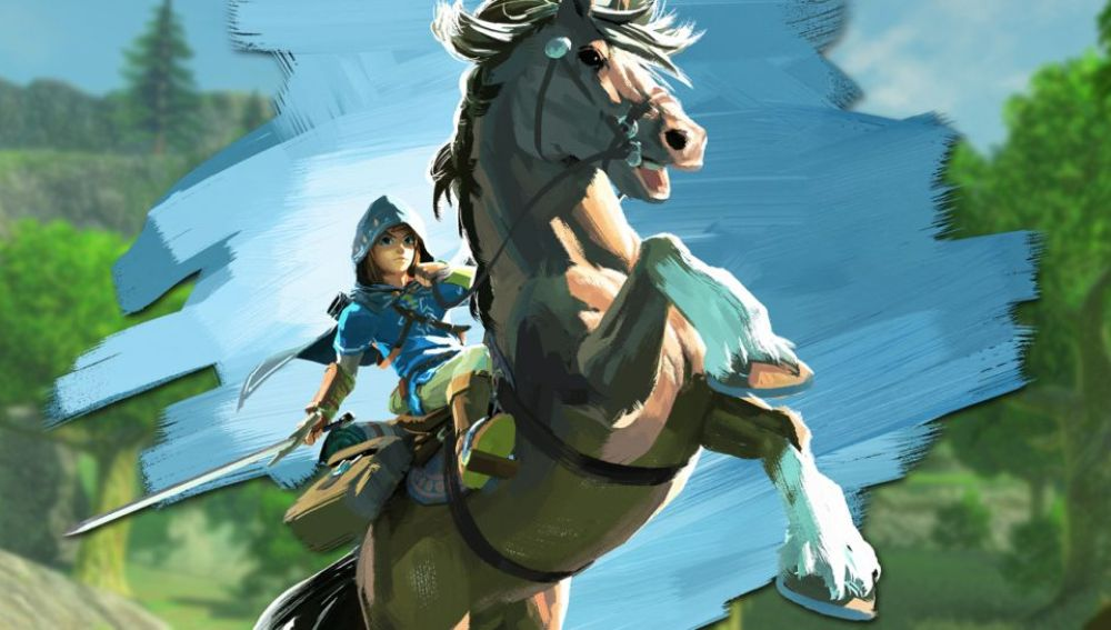 Link en Zelda: Breath of the Wild