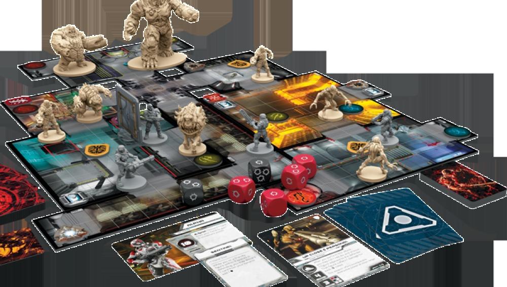neox games as es el juego de mesa oficial de doom