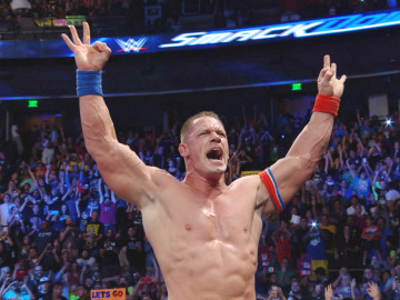 John Cena vence a Alberto del Río en el Main Event