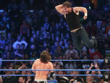 AJ Styles retiene frente a Dean Ambrose con Cena de espectador en 'SmackDown'