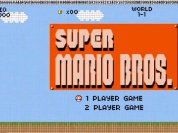 Super Mario Bros. en una hoja de cálculo