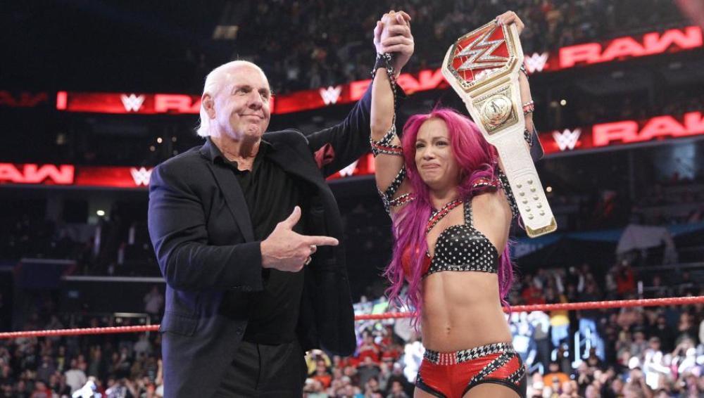 Sasha Banks es la nueva campeona de WWE 'Raw'