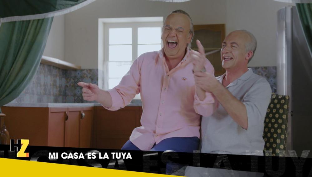 Bertín y José Luis Moreno