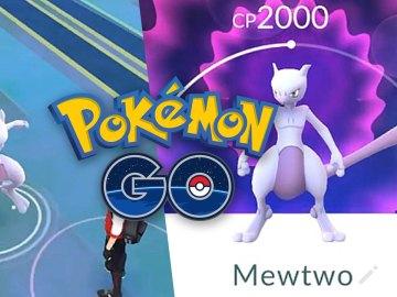 MewTwo en Pokémon GO